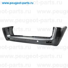 100.11213, Poliplast, Бампер задний (черный) для Fiat Scudo, Peugeot Expert 3, Citroen Jumpy 3