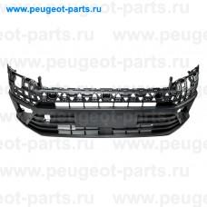 100.18113, Poliplast, Бампер передний черный для VW Crafter, MAN TGE