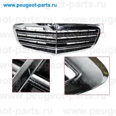 ME5282000-SALE, Prasco, Решетка радиатора Mercedes S-class  (W221) 09/09 -> 01/12 (хром) (С ДЕФЕКТОМ)