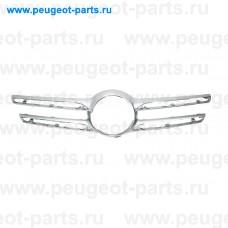 ME8302001, Prasco, Молдинг решетки радиатора (хром) для Mercedes W166