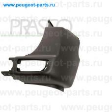 ME9191153, Prasco, Бампер задний правый (черный) для Mercedes Sprinter, VW Crafter