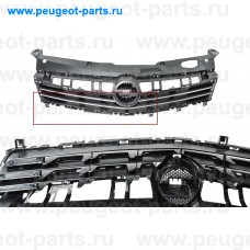 OP4142001-SALE, Prasco, Решетка радиатора Opel Astra H 01/07 -> 11/09 черная (С ДЕФЕКТОМ)