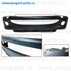 PG0091011-SALE, Prasco, Бампер передний PSA 206 +п/т под покраску (С ДЕФЕКТОМ)