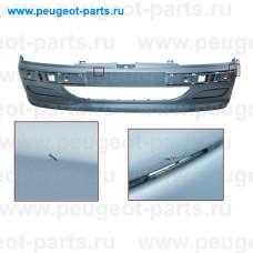 PG0571021-SALE, Prasco, Бампер передний PSA 406 10/95-05/99 -п/т (С ДЕФЕКТОМ)