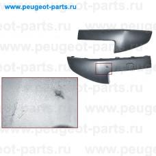 7701476889-SALE, Renault, Комплект накладок бампера переднего Рено Megane 2 06-> (С ДЕФЕКТОМ)