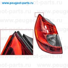 8200474328-SALE, Renault, Фонарь задний Рено Scenic 2 09/06 -> левый (С ДЕФЕКТОМ)