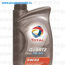 166254, Total, Масло моторное TOTAL QUARTZ INEO MC3 5W30 1 литр