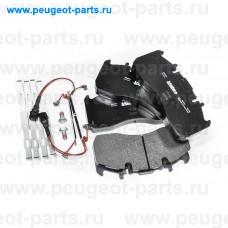 882243, Valeo, Колодки тормозные передние для Renault Midlum, Volvo FL, Volvo FH