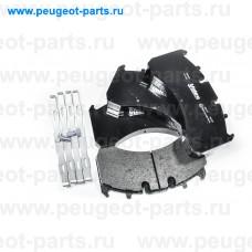882248, Valeo, Колодки тормозные передние для Renault Premium, Renault Magnum, Volvo FE, Volvo FM, Volvo FMX